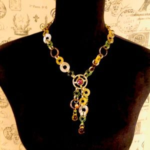 NWT FORMAL STYLE TRESKA NECKLACE MULTIPLE COLORS